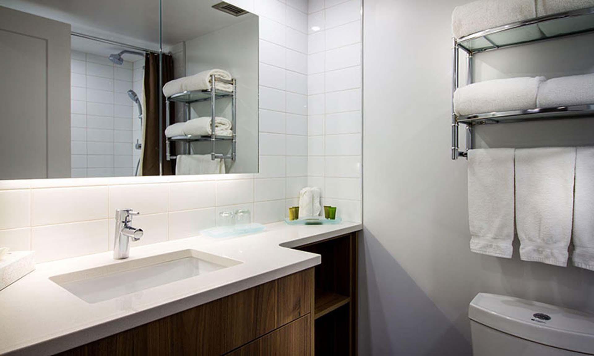 Commercial Quartz Bathroom