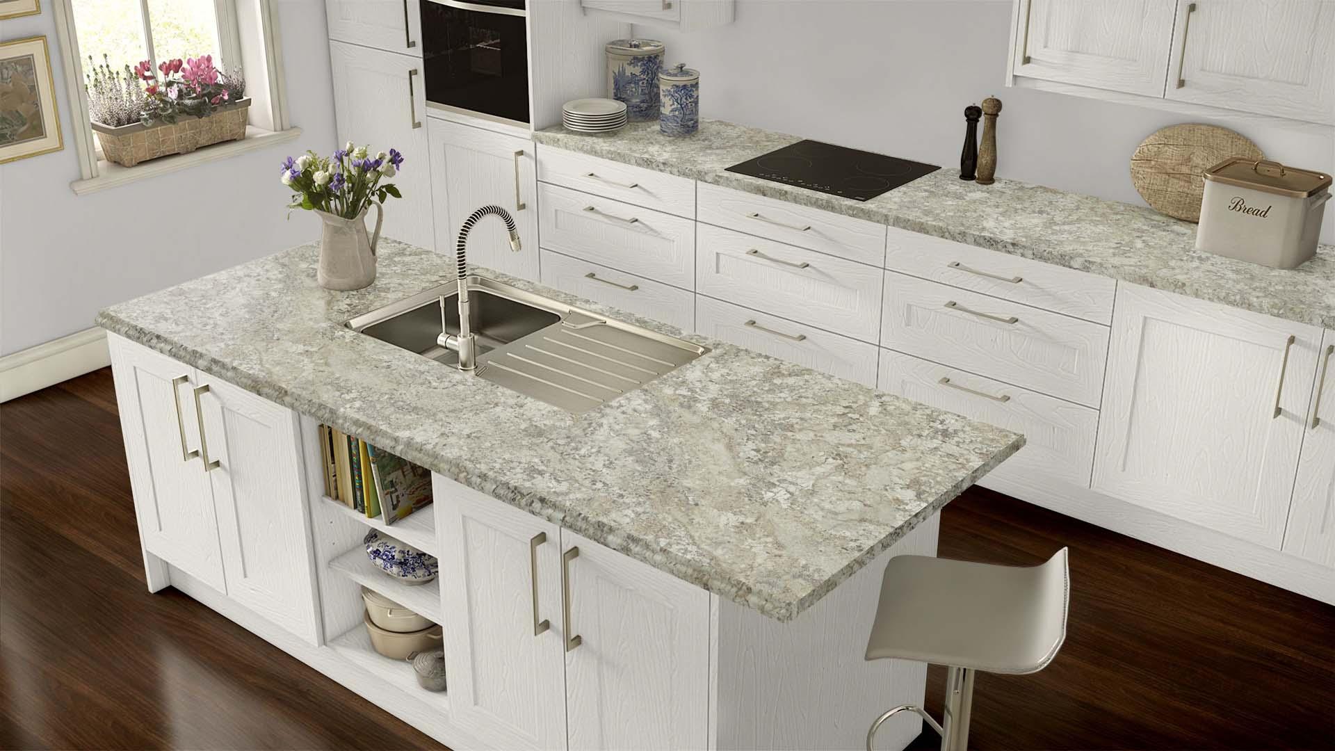Laminate Counter Kitchen