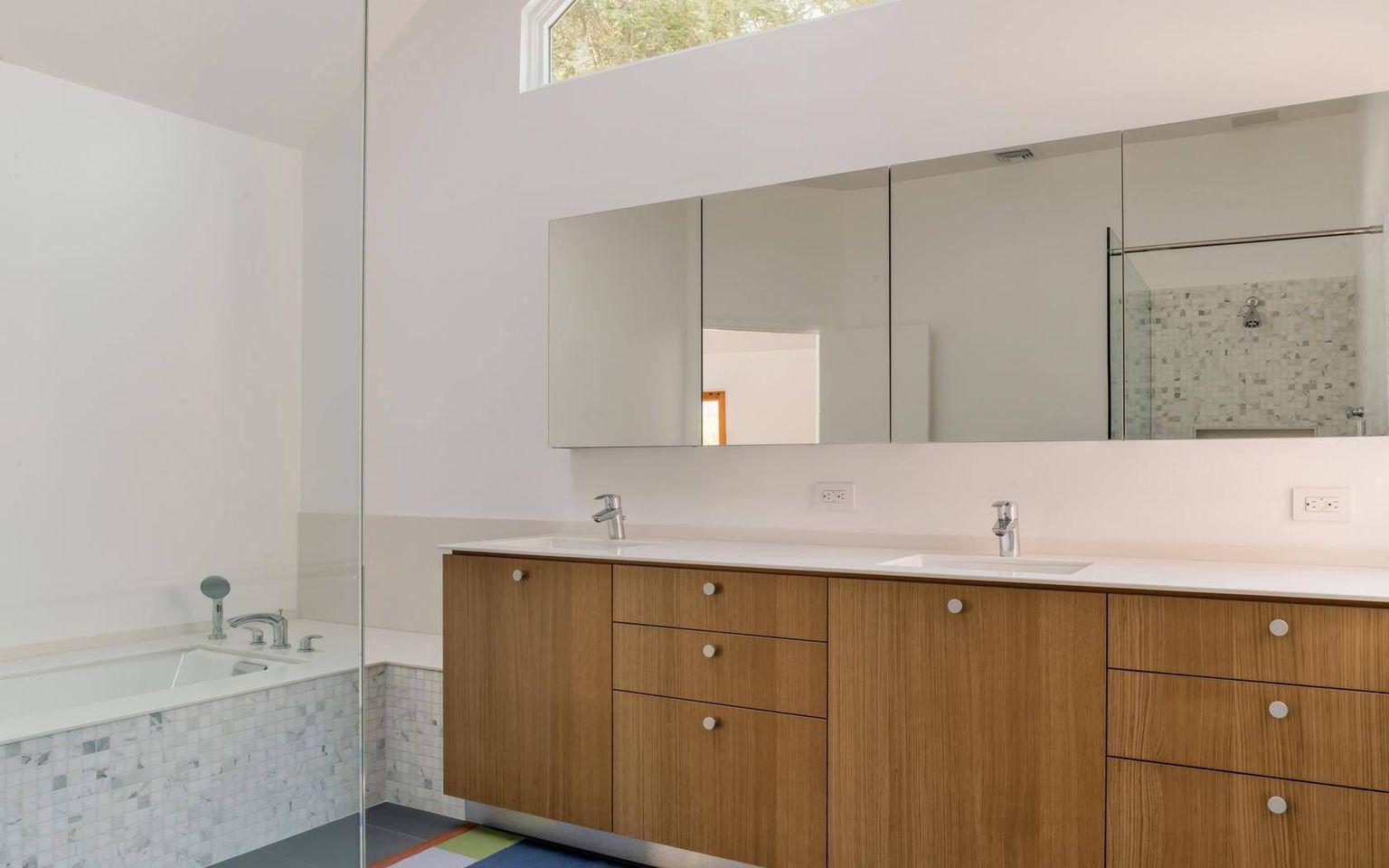 Residential Quartz Bathroom